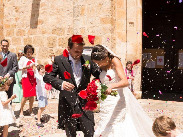 La boda de Javier y Nereida  en Riaza, Segovia 20