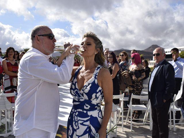 La boda de Fernando y Belén en Yaiza, Las Palmas 9