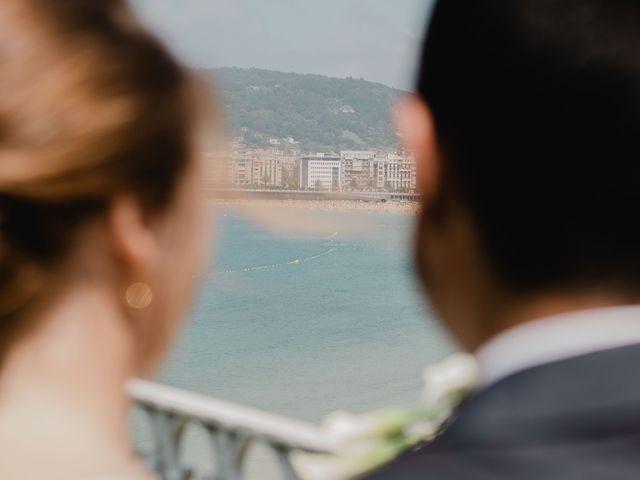 La boda de Irati y Raul en Donostia-San Sebastián, Guipúzcoa 57