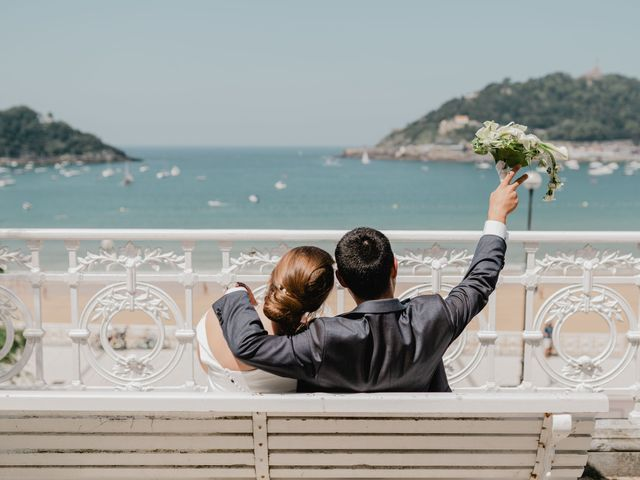 La boda de Irati y Raul en Donostia-San Sebastián, Guipúzcoa 58