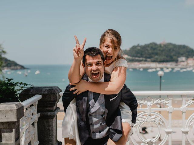 La boda de Irati y Raul en Donostia-San Sebastián, Guipúzcoa 59