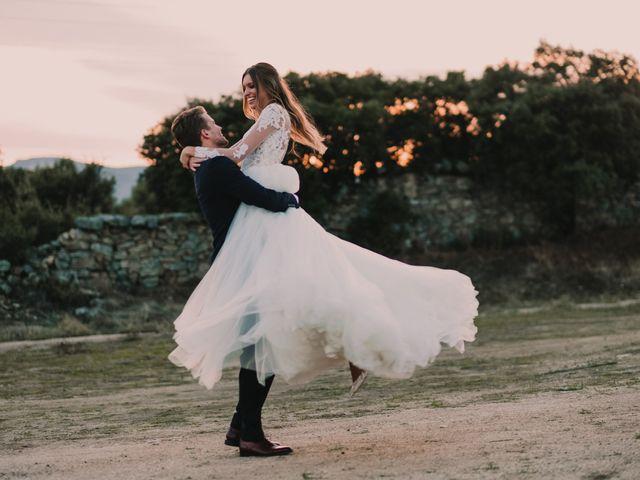 La boda de Alfonso y Verónica en Guadarrama, Madrid 54