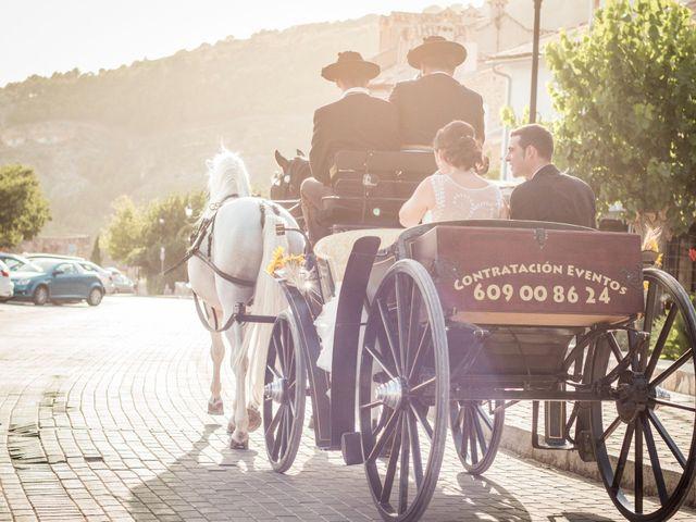 La boda de Jorge y Susana en Villalba De La Sierra, Cuenca 9