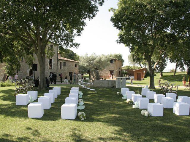 La boda de Dani y Emma en Pontos, Girona 1