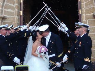 La boda de Claudia  y John