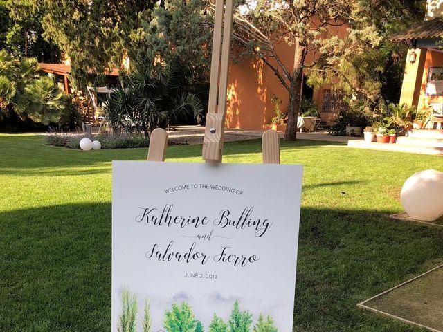 La boda de Salvador y Katherine en Alfajarin, Zaragoza 14