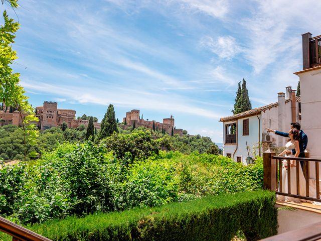 La boda de Gonzalo y Amparo en Granada, Granada 23