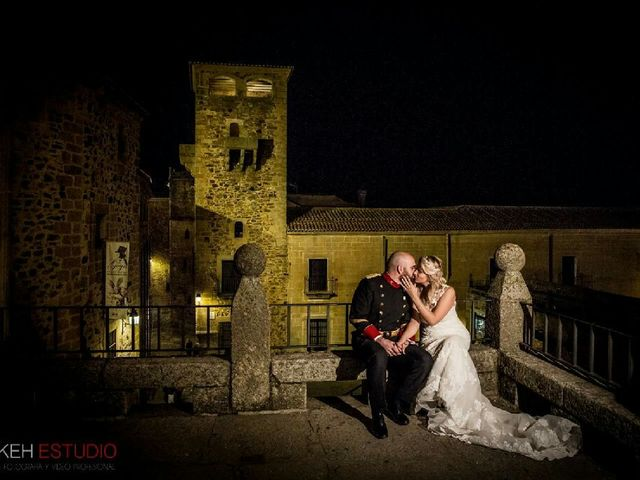 La boda de Luis y Maria  en Aldehuela De Jerte, Cáceres 15