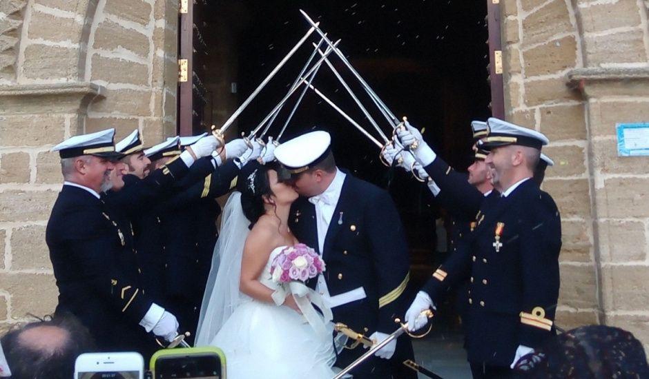 La boda de John  y Claudia  en Rota, Cádiz