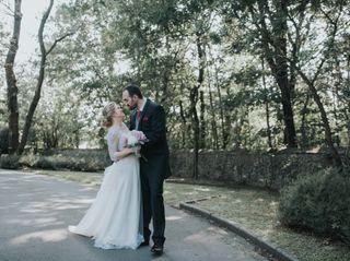 La boda de Amelié y Hugo