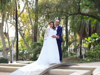La boda de Virginia y José