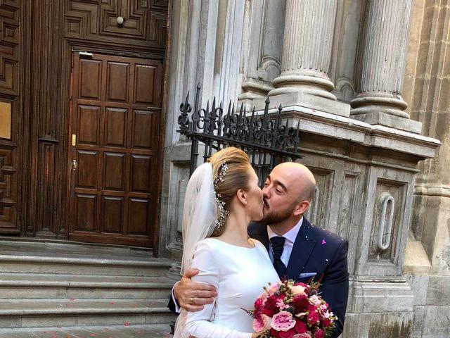 La boda de Fran y Magda  en Granada, Granada 13