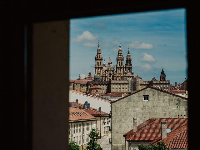 La boda de Alberto y Isa en Santiago De Compostela, A Coruña 2