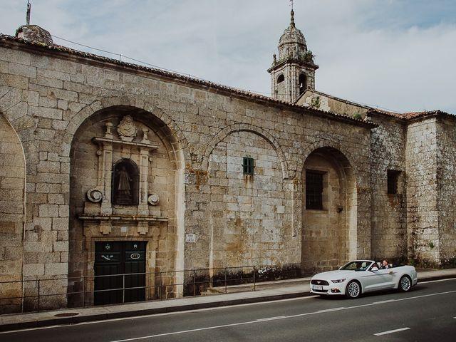 La boda de Alberto y Isa en Santiago De Compostela, A Coruña 17