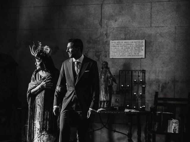 La boda de Alberto y Isa en Santiago De Compostela, A Coruña 18