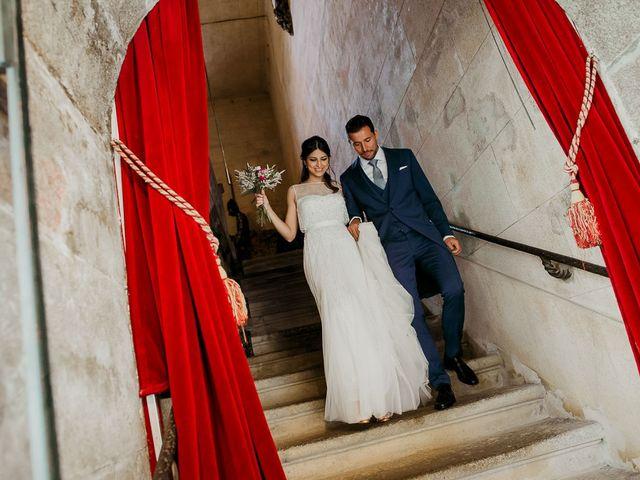 La boda de Alberto y Isa en Santiago De Compostela, A Coruña 30
