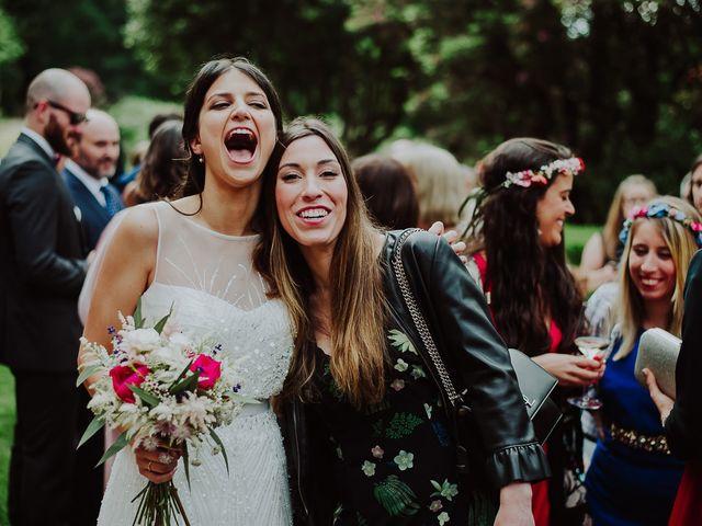 La boda de Alberto y Isa en Santiago De Compostela, A Coruña 35