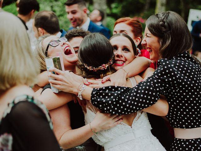 La boda de Alberto y Isa en Santiago De Compostela, A Coruña 36