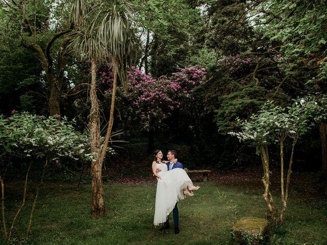 La boda de Alberto y Isa en Santiago De Compostela, A Coruña 39