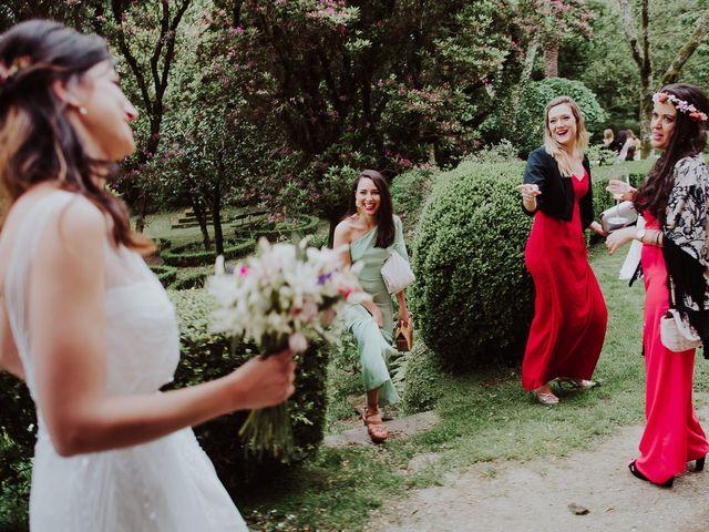 La boda de Alberto y Isa en Santiago De Compostela, A Coruña 44