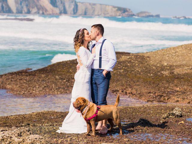 La boda de Alex y Zaira en Luanco, Asturias 33