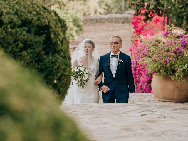 La boda de David y Sthephanie en Alaro, Islas Baleares 20