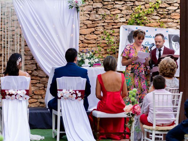 La boda de Kike y Cristina en Carrion De Calatrava, Ciudad Real 21
