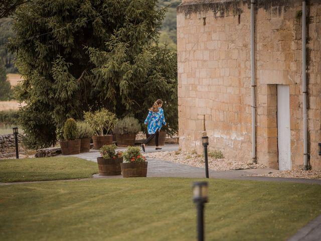 La boda de Alberto y Camilla en Santa Gadea Del Cid, Burgos 2
