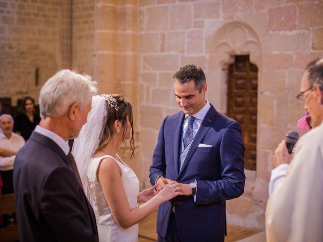 La boda de Alberto y Camilla en Santa Gadea Del Cid, Burgos 18