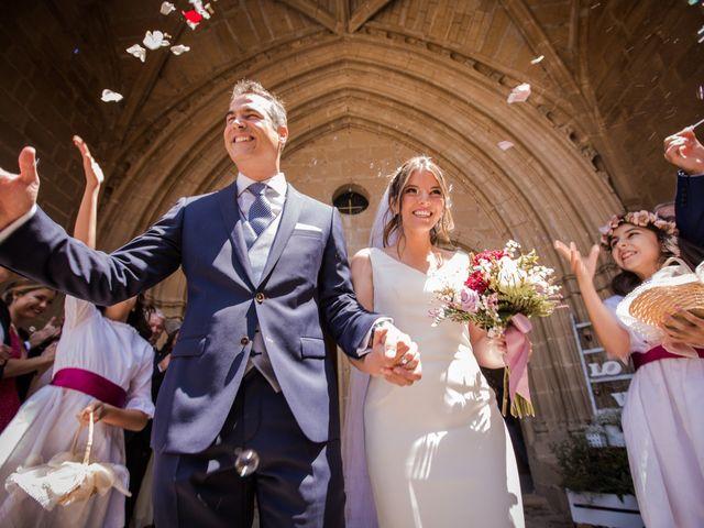 La boda de Alberto y Camilla en Santa Gadea Del Cid, Burgos 22