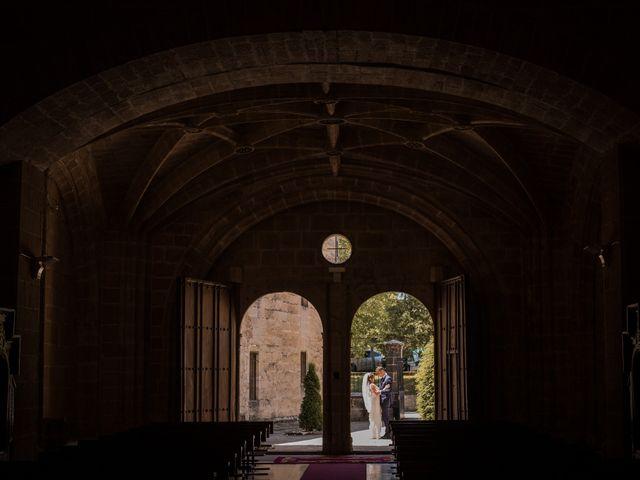 La boda de Alberto y Camilla en Santa Gadea Del Cid, Burgos 24