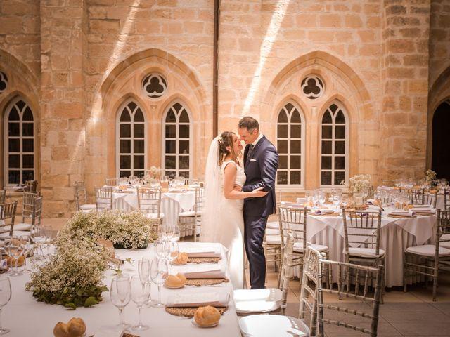 La boda de Alberto y Camilla en Santa Gadea Del Cid, Burgos 28