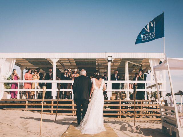 La boda de Diego y Alba en Chiclana De La Frontera, Cádiz 14