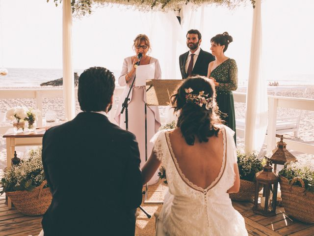 La boda de Diego y Alba en Chiclana De La Frontera, Cádiz 15