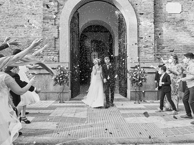 La boda de Maria y Max en Granja De Torrehermosa, Badajoz 19