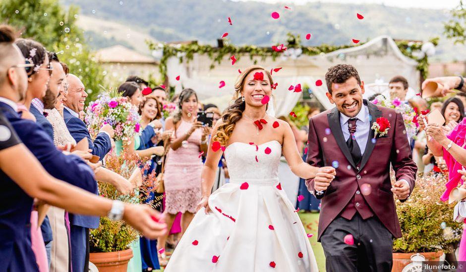 La boda de Santy y Mayra en Lezama, Álava