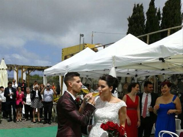 La boda de Himar y Cecilia en Arucas, Las Palmas 9