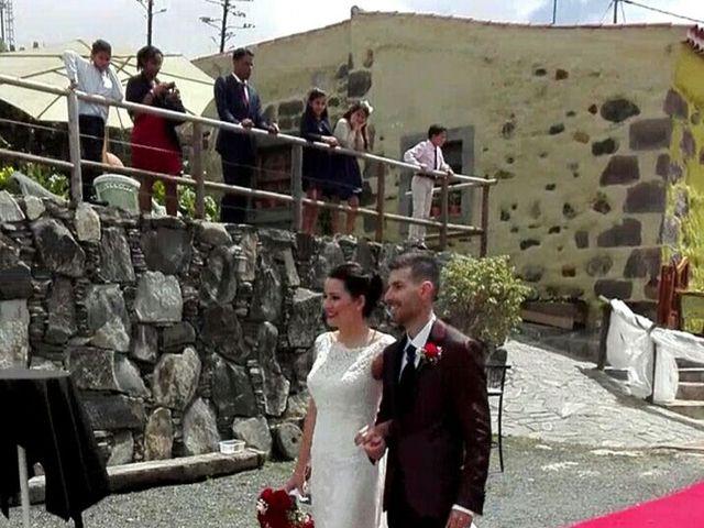 La boda de Himar y Cecilia en Arucas, Las Palmas 2