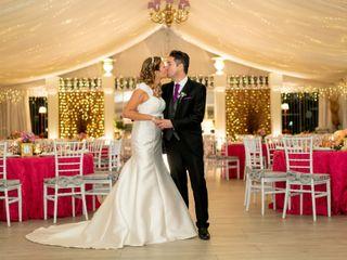 La boda de Carlos y Beata