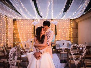 La boda de Chloe Alicia y Ben Thomas