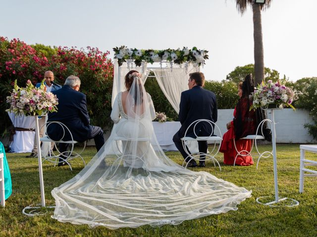 La boda de Kico y Marta en Chiclana De La Frontera, Cádiz 13