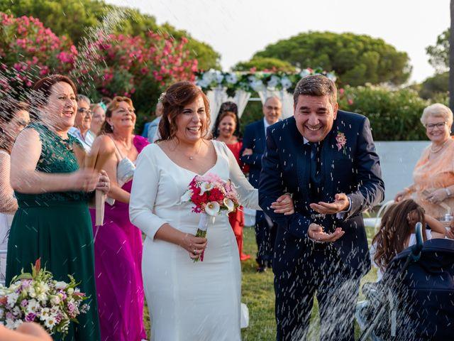 La boda de Kico y Marta en Chiclana De La Frontera, Cádiz 17