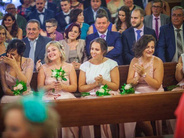 La boda de Miguel y Emi en La Calahorra, Granada 19
