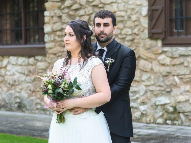 La boda de Josi y Janire en Ventas De Armentia, Burgos 45