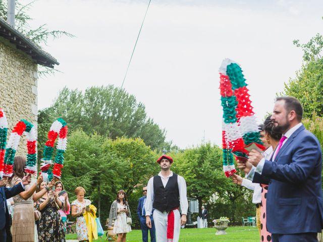 La boda de Josi y Janire en Ventas De Armentia, Burgos 90