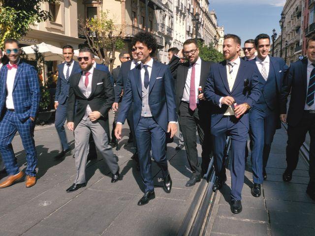 La boda de David y María en Sevilla, Sevilla 7