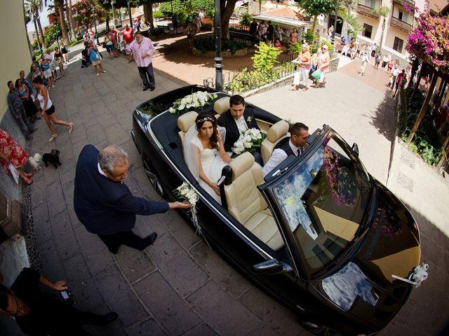 La boda de Mauro y Sandra en Los Realejos, Santa Cruz de Tenerife 25