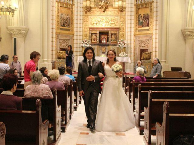 La boda de Héctor y Doris en Madrid, Madrid 1