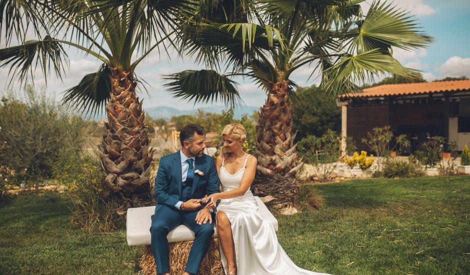 La boda de Sara  y Óscar  en Santa Eugenia, Islas Baleares