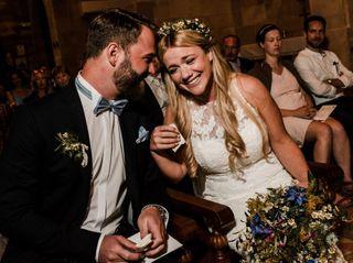 La boda de Ivonne y Basti